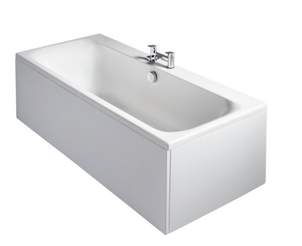 Sottini Turano Idealform 180x80cm Double Ended Rectangular Bath