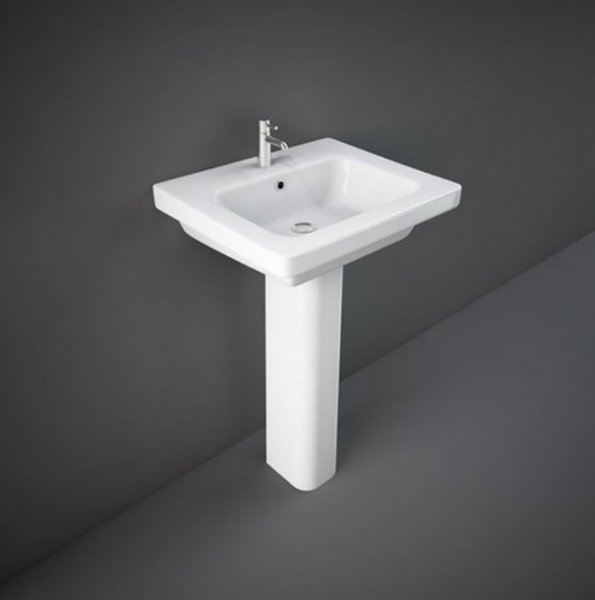 RAK Resort 50cm 1 Tap Hole Basin