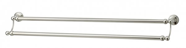 Perrin & Rowe Traditional 800mm Double Towel Rail (6945)