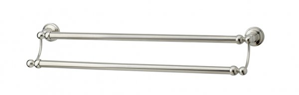 Perrin & Rowe Traditional 495mm Double Towel Rail (6943)