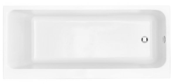 Heritage Blenheim 1700 x 700mm Acrylic Single Ended Fitted Bath