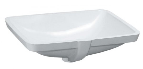Laufen Pro S 525mm Built-in Basin without Tap Ledge