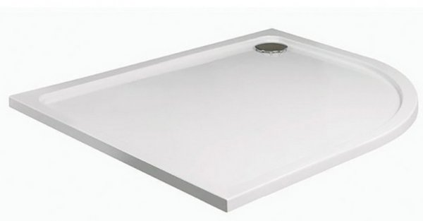 JT Fusion 1200 x 800mm Offset Quadrant Shower Tray