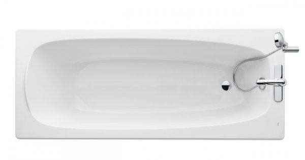 Roca Malaga Eco 1700 x 700mm Gripped Bath