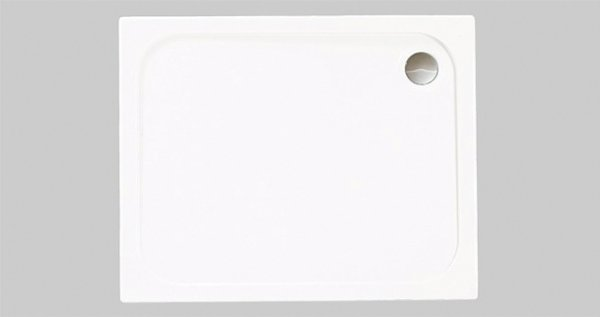 Merlyn MStone Rectangle Tray 1680 x 760mm with Waste