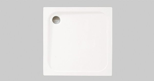 Merlyn MStone Square Tray 760 x 760mm with Waste