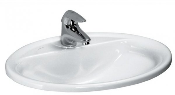 Laufen Pro 560mm Drop-In Basin with Overflow