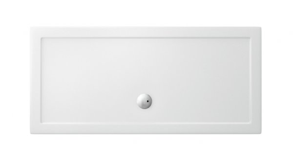 Zamori 1800 x 1000mm White Rectangle Shower Tray