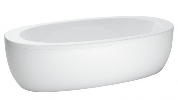 Laufen Alessi One Freestanding Bath with Panel
