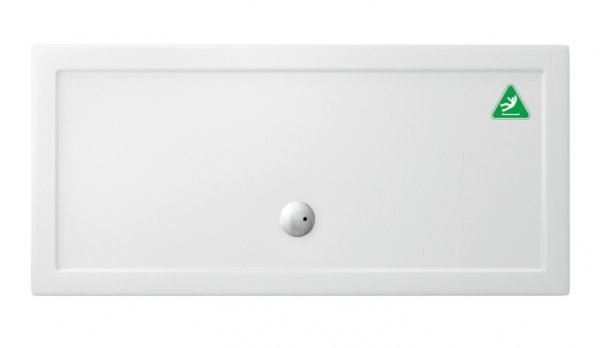 Zamori 1600 x 900mm Anti-Slip Rectangle Shower Tray