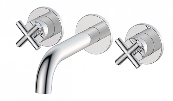 Marflow Vertini Wall Mounted Basin/Bath Mixer