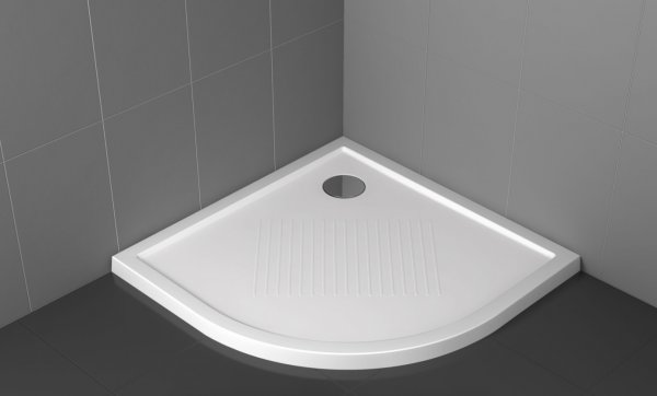 Novellini Olympic Quadrant 800 x 800mm Shower Tray
