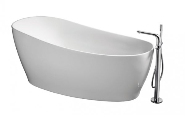 Sottini Piomba 180 x 85cm Freestanding Bath