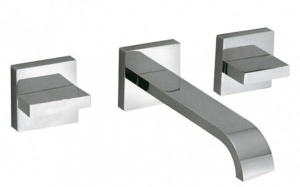 Vado Geo 3 Hole Basin Mixer