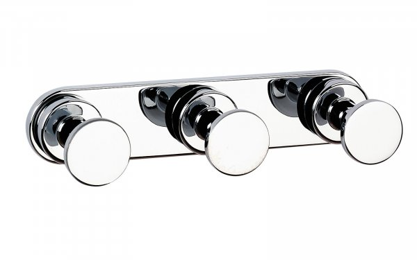 Bathroom Origins Tecno project Triple Hook - Chrome