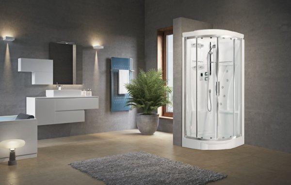 Novellini New Holiday R90 Hydromassage Quadrant Shower Enclosure