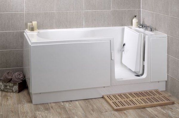 Kubex Pearl Walk-in Bath with Moulded Seat