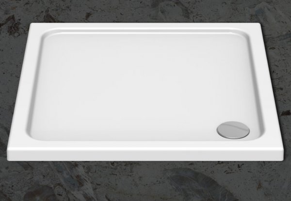 Kudos Kstone 900 x 760mm Rectangular Shower Tray
