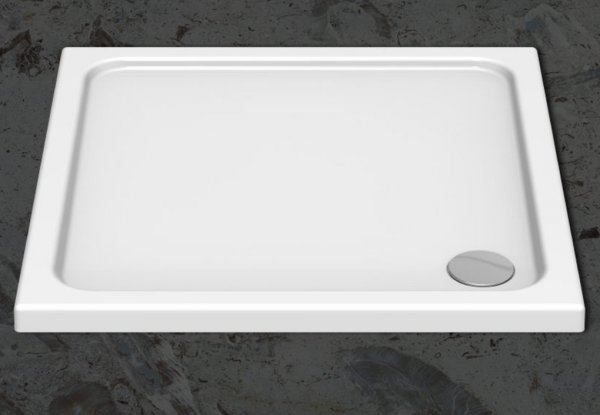 Kudos Kstone 1000 x 900mm Rectangular Shower Tray Anti-Slip