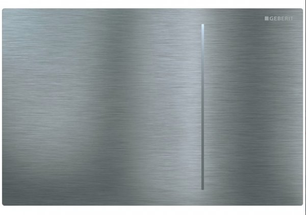 Geberit Sigma 70 Stainless Steel Brushed Dual Flush Plate For Sigma Cistern 8cm