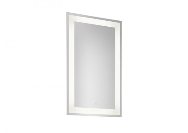 Roca Carmen 400 x 700mm Rectangular Mirror With LED Light And Demister
