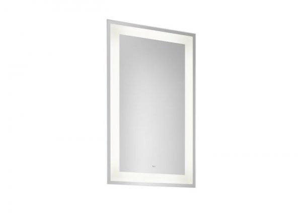 Roca Carmen 600 x 700mm Rectangular Mirror With LED Light And Demister