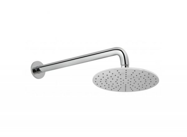 Vado Atmosphere Round Aerated Shower Head with Shower Arm