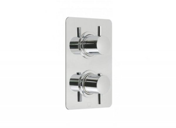 Vado Celsius 2 Outlet Thermostatic Shower Valve with Integrated Diverters