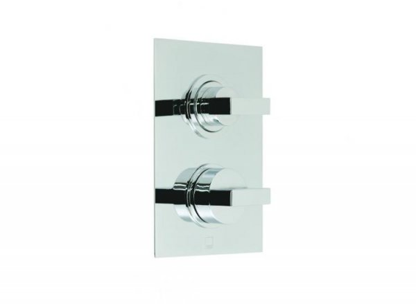 Vado Notion Concealed 3 Outlet, 2 Handle Thermostatic Shower Valve