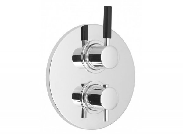Vado Nuance Concealed 2 Handle Thermostatic Shower Valve