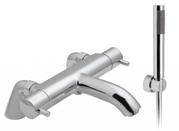 Vado Zoo 2 Hole Thermostatic Bath Shower Mixer