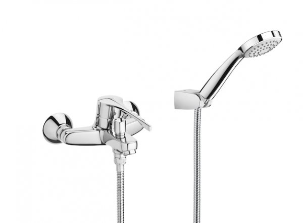 Roca Victoria Pro Wall Mounted Bath Shower Mixer