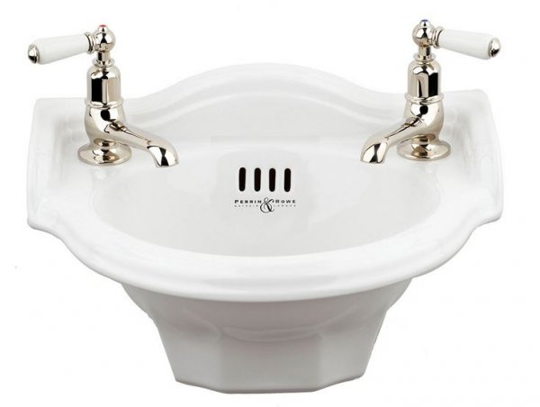 Perrin and Rowe Deco 40cm Cloakroom Basin