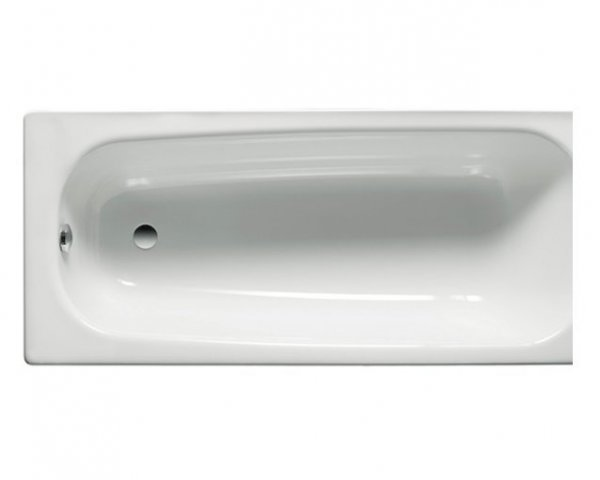 Roca Contesa No Tap Hole Steel Bath with Anti-Slip 150 x 70cm