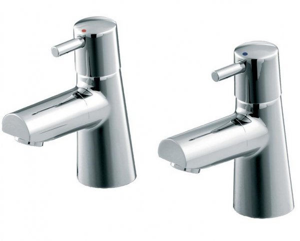 Ideal Standard Cone Basin Pillar Taps