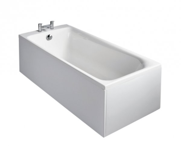 Sottini Turano Idealform 180 x 80cm Rectangular Bath with Filler Waste