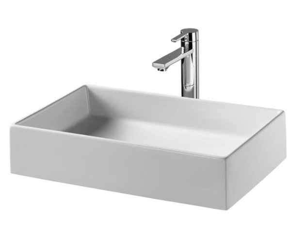 Sottini Vomano 60 x 38cm Square Vessel Basin
