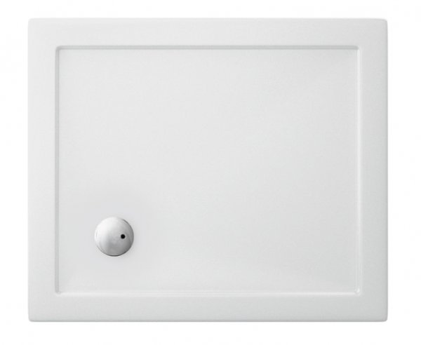 Zamori 1100 x 800mm White Rectangle Shower Tray