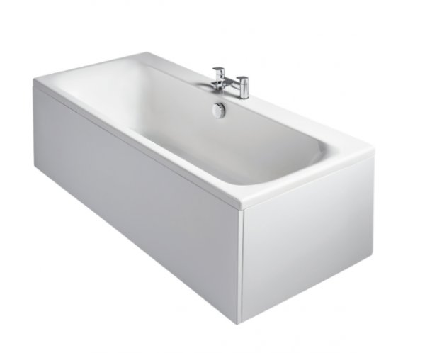 Sottini Turano Idealform Plus+ 170 x 75cm Double Ended Rectangular Bath