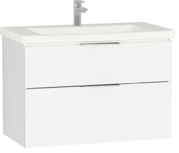 Vitra Ecora 90cm 2 Drawer Basin Unit