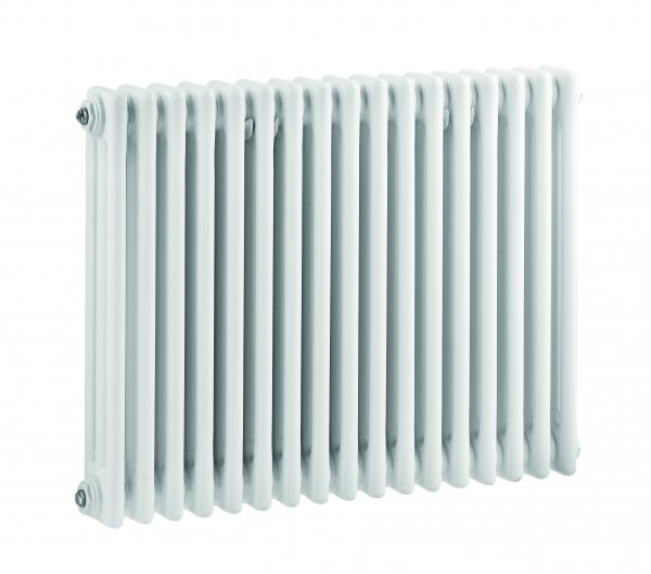 Bayswater Nelson Triple 600 x 786mm White Radiator