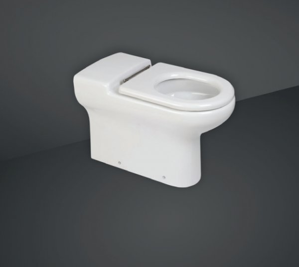 RAK Compact 70cm Extended Rimless Back To Wall WC Pan
