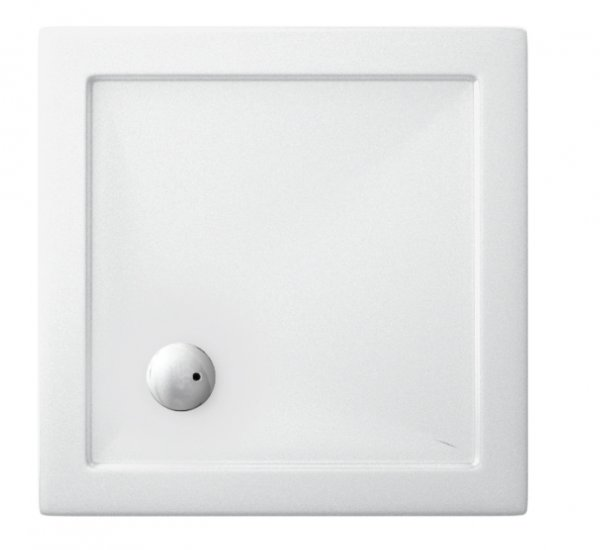 Zamori 800 x 800mm White Square Shower Tray
