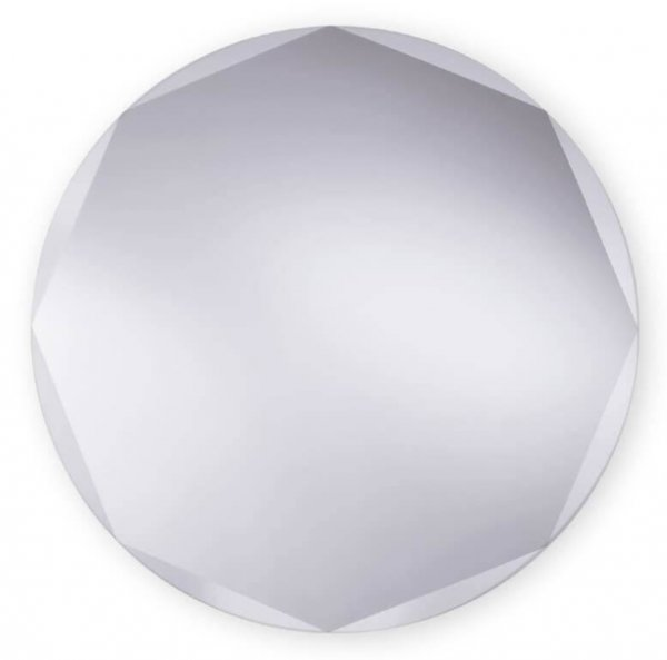 Bathroom Origins Circle Edge Mirror