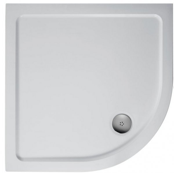 Ideal Standard Simplicity Quadrant Flat Top 800mm Low Profile Shower Tray