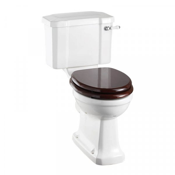 Burlington Rimless Slimline Close Coupled WC Suite