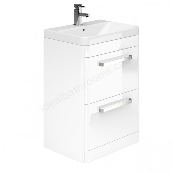 Essential Vermont 600mm Basin Unit with 2 Drawers