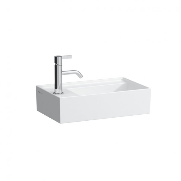 Kartell by Laufen 46cm Small Asymmetric Basin (Left Hand)