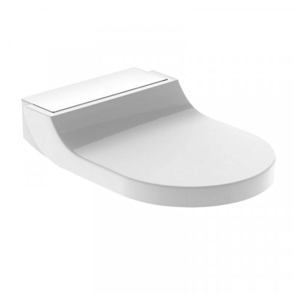 Geberit AquaClean Tuma Comfort Toilet Seat Enhancement White Glass