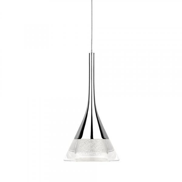 Sensio Zirconia Crystal Cone Pendant Light